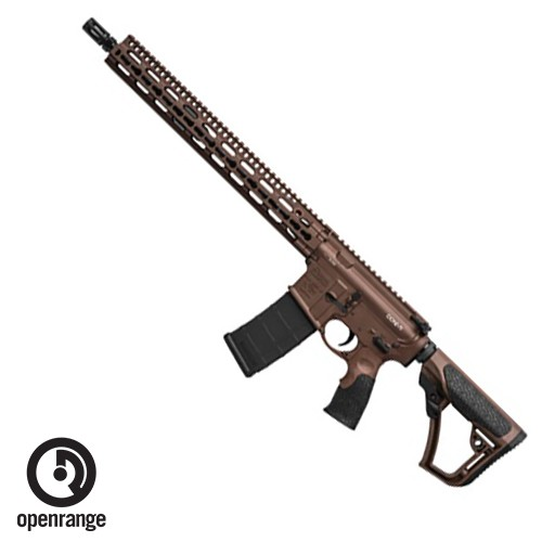 "Rifle New Daniel Defense DDM4 V11, 5.56, 16"", with SLiM Keymod Rail, Mil-Spec+ Brown"