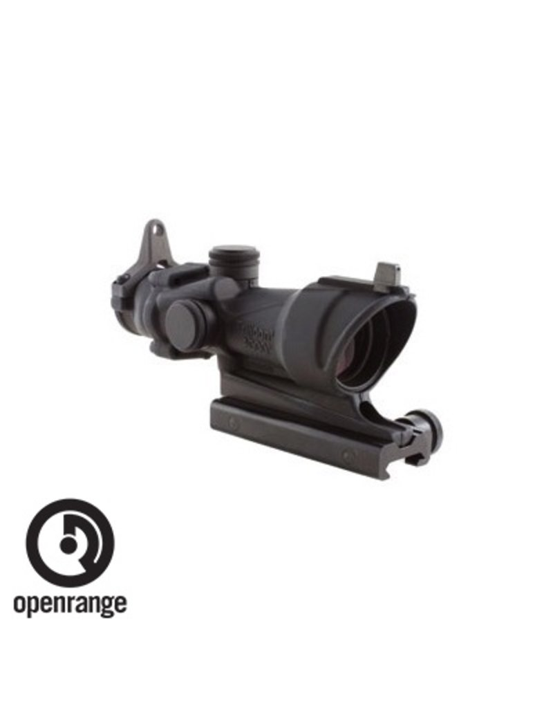 Optics Trijicon Acog 4X32 For M4A1 with Flattop mount and backup iron sights
