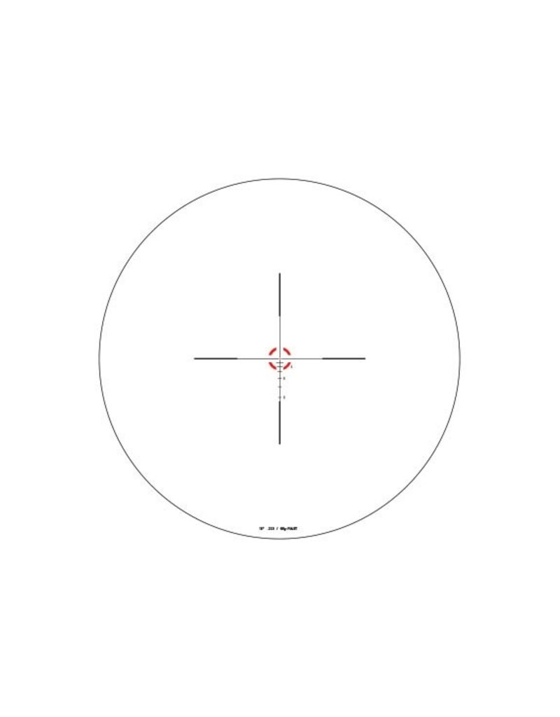 Optics Trijicon AccuPower 1-4x24 Riflescope .223/55gr BDC Segmented-Circle/Dot Crosshair w/ Red LED, 30mm