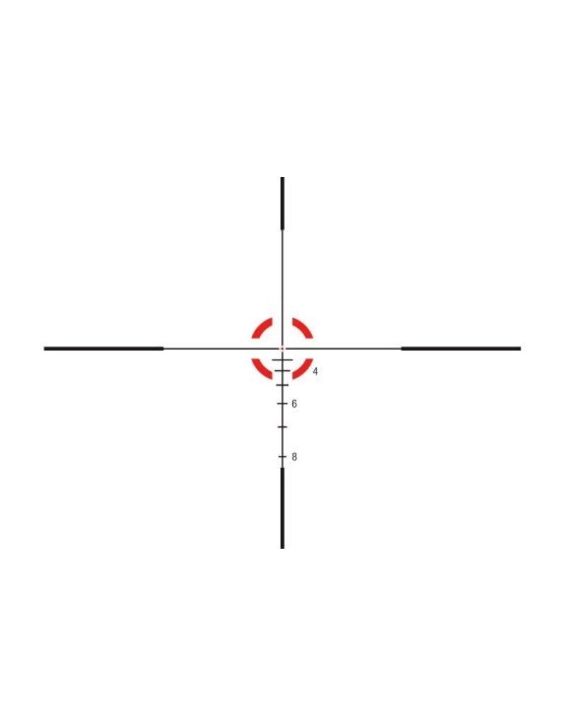 Optics Trijicon AccuPower 1-4x24 Riflescope .223/55gr BDC Segmented-Circle/Dot Crosshair w/ Red LED, 30mm