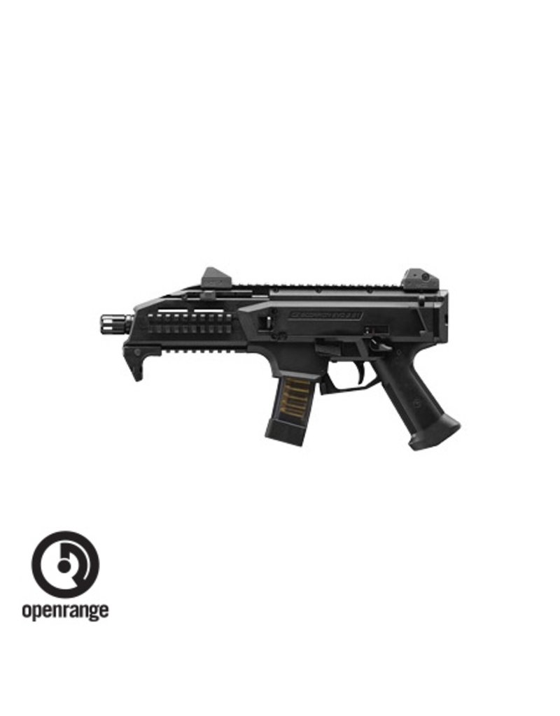 "Handgun New CZ Scorpion EVO 3 S1, 9MM, 7.7"", Black, 20Rd"