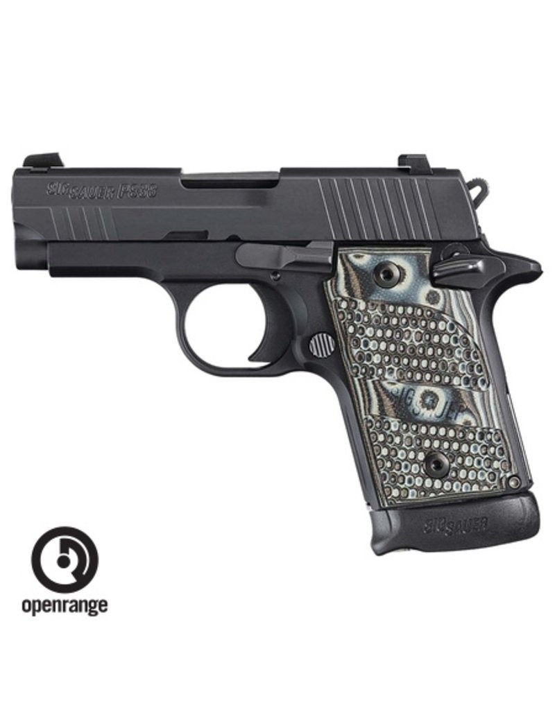 Handgun New Sig Sauer P938 Extreme, 9mm, 7 rd, Night Sights, G10 Piranha Grips