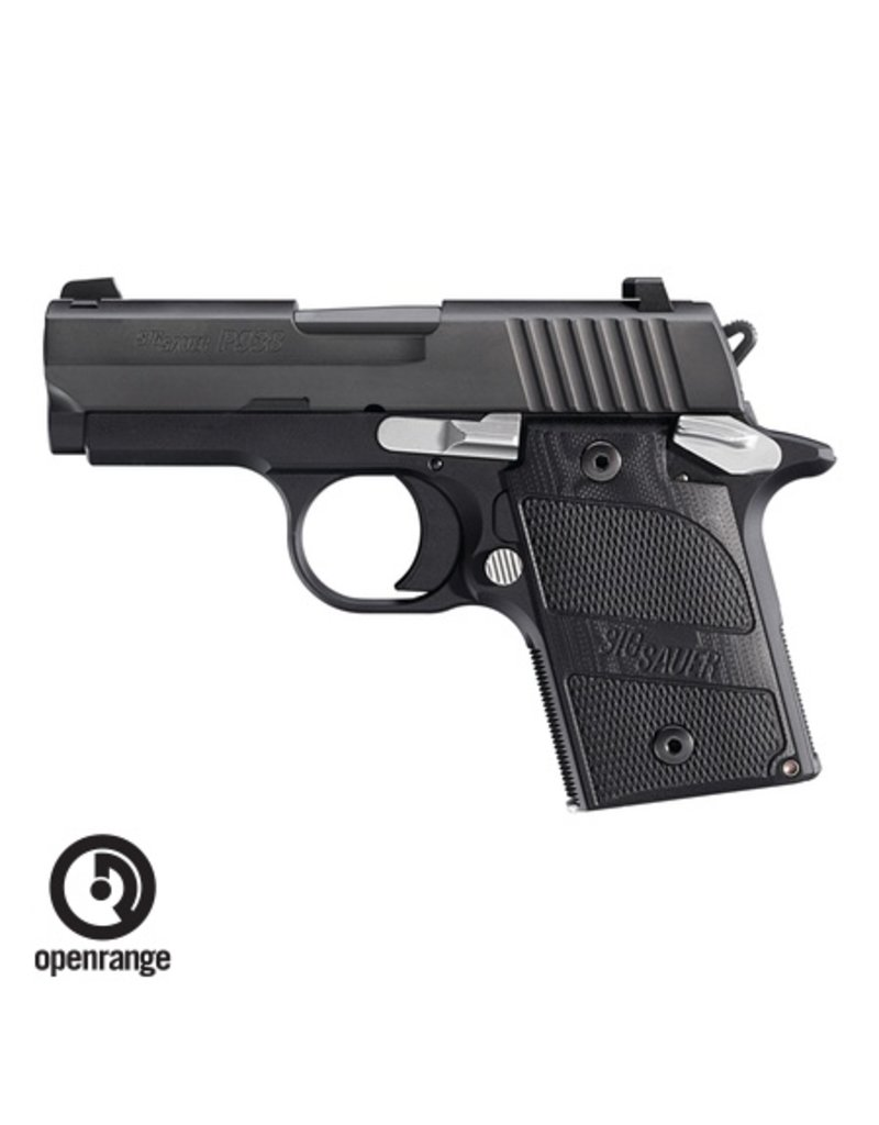 Handgun New Sig Sauer P938 Nightmare, 9mm, 6 rd, black