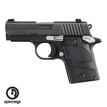 Handgun New Sig Sauer P938 Nightmare, 9mm, 6 rd, black
