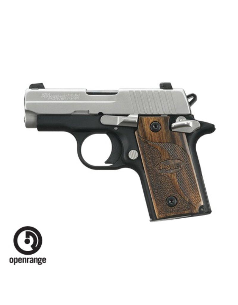 Handgun New Sig Sauer P238 SAS, 380, 6 rd