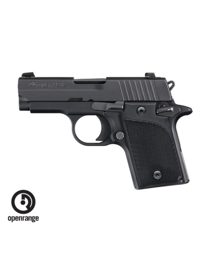 Handgun New Sig Sauer P938, 9mm, 6 rd, black, Night Sights
