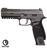 Handgun New Sig Sauer P320 Tap Ops, 9mm, TFO Sights, 4 x 21 rd Mags
