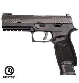 "Handgun New Sig Sauer P320 Tac Ops, 9mm,  4.7"" Barrel, Polymer Grip, TFO Front/Siglite Rear, 4 x 21rd Magazines"