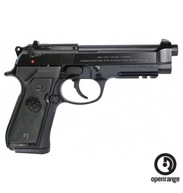 "Handgun New Beretta 92A1, 9mm, 4.9"" Bruniton Finish DA/SA, 3 magazines"