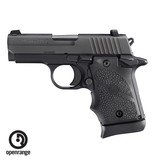 Handgun New Sig Sauer P938 w/Black Rubber Grips, 9mm