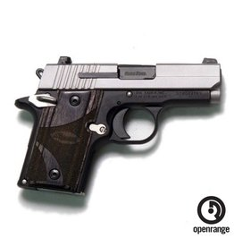 Handgun New Sig Sauer P938 Duo w/Blackwood Grips, 9mm, 6 rd