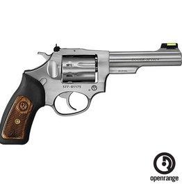 "Handgun New Ruger SP101 22LR, 4.2"" barrel, 8 rd, fiber optic front sight, adjustible rear sights"