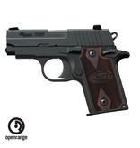Handgun New Sig Sauer P238, 380, 6 rd, rosewood grips