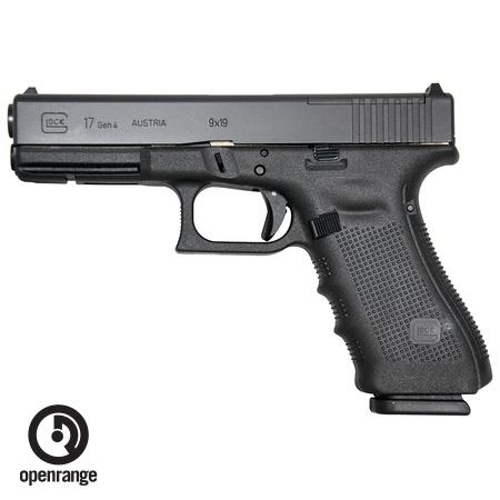 Handgun New Glock 17 Gen 4 MOS, 9mm, 17 rd