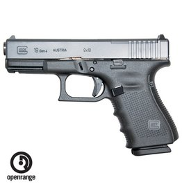 Handgun New Glock 19 Gen 4 MOS, 9mm, 15 rd