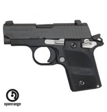 Handgun New Sig Sauer P238 Nightmare, 380, 6 rd, black w/night sights