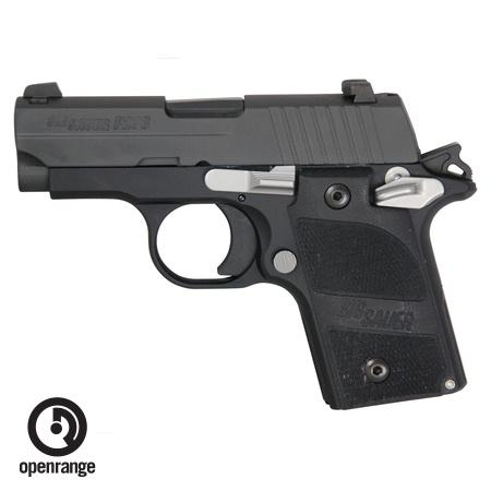 Handgun New Sig Sauer P238 Nightmare, 380, 6 rd, black w/night sights