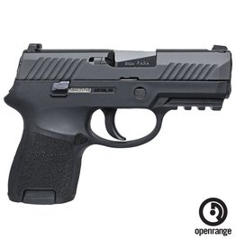 "Handgun New Sig Sauer P320SCR, Sub Commpact, 9mm, 3.6"" Barrel, 12 rd, Night Sights"