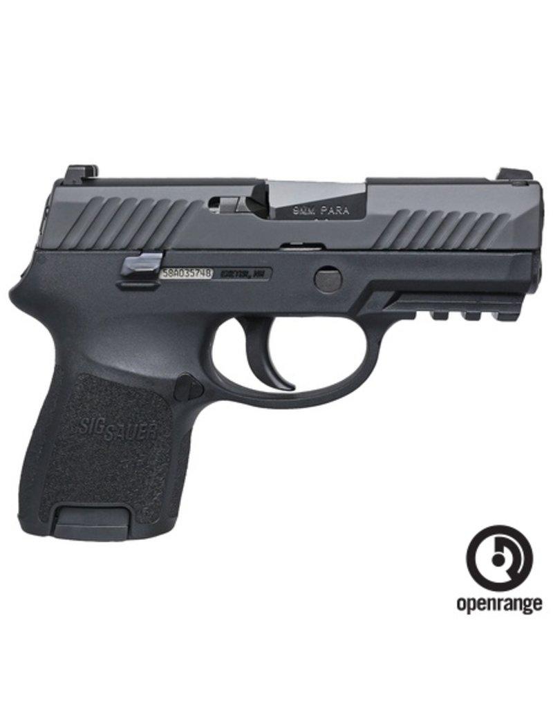 "Handgun New Sig Sauer P320SCR, Sub Commpact, 9mm, 3.6"" Barrel, 12 rd, Night Sights"