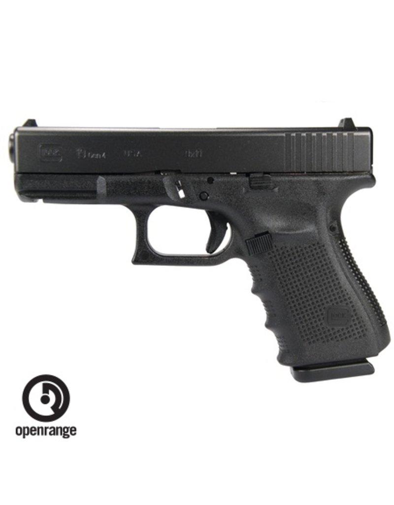 Handgun New Glock 19 Gen 4, 9 mm, 15 rd, 3 mags, USA Made