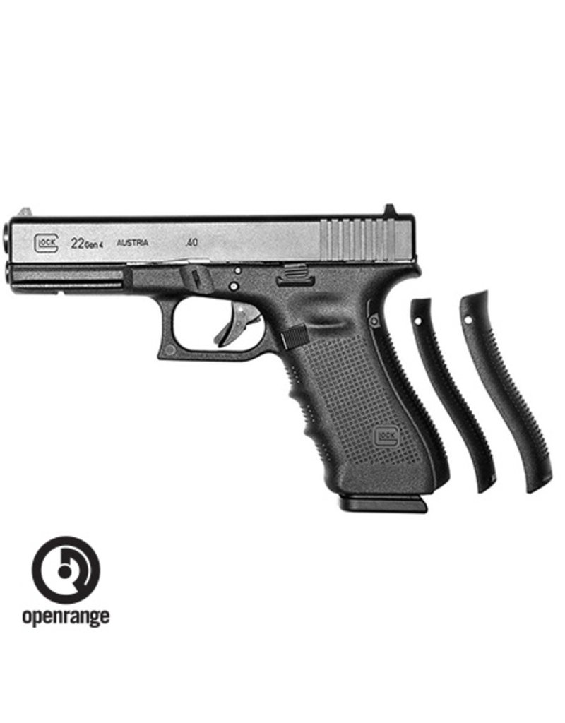 Handgun New Glock 22, Gen 4, 40 SW, 15 rd, 3 mags