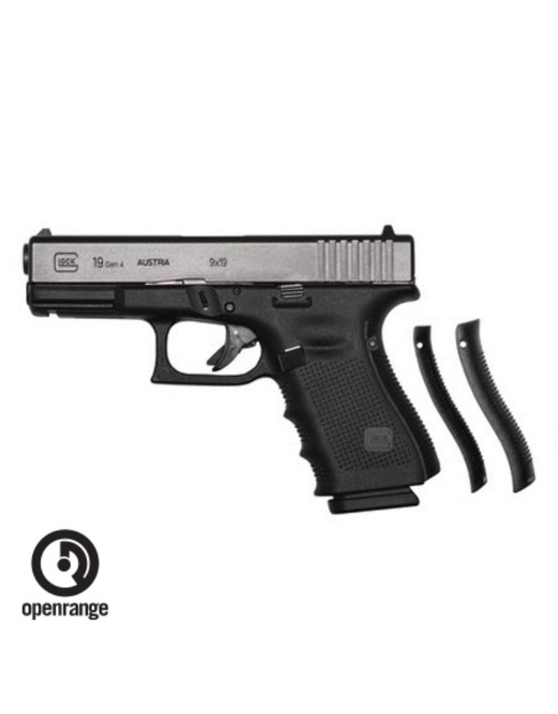 Handgun New Glock 19 Gen 4, 9 mm, 15 rd, 3 mags