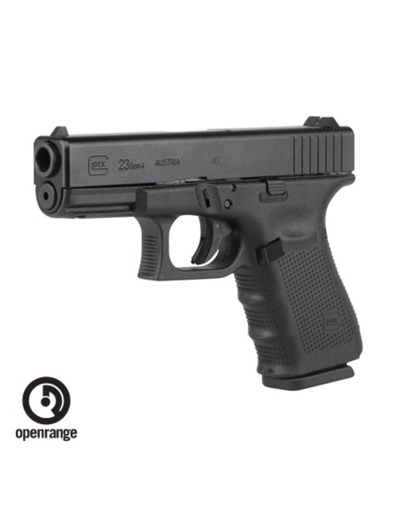 Handgun New Glock 23 Gen 4, 40 SW, 13 rd, 3 mags
