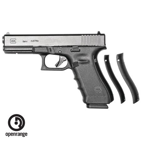 Handgun New Glock 17 Gen 4, 9 mm, 17 rd, 3 mags