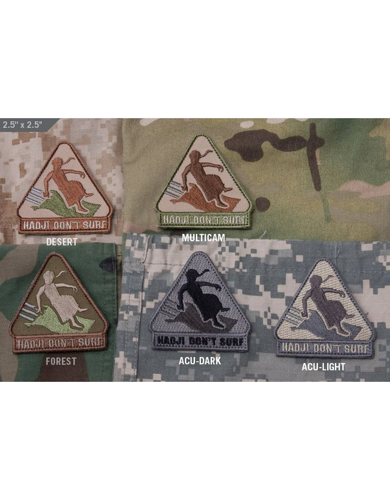 Patches Mil-Spec Monkey Hadji Don't Surf Patch, Desert