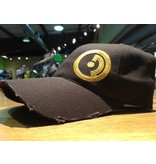 Hats Openrange Hat, Distressed, Brown w/ Gold Logo