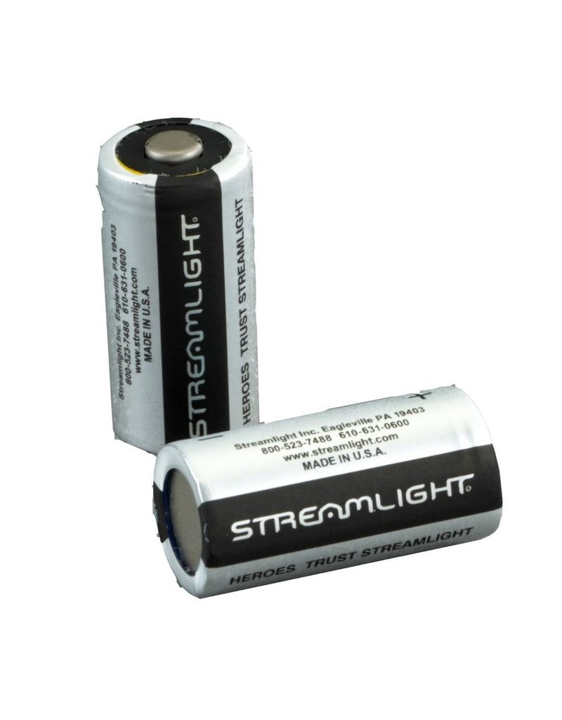 Battery Streamlight Lithium Batteries CR123 - 2 Pack