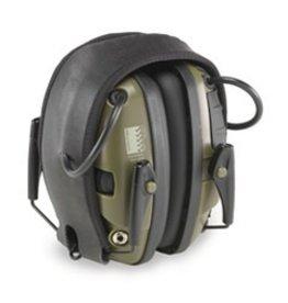 Ear Pro HOWARD LEIGHT Impact Sport, electronic earmuffs, Green