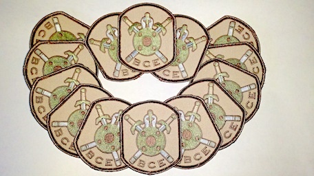 Patches BCE Battle Patch, Multi Cam