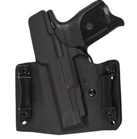 Plastic Comp-Tac Flatline Holster, Black, Glock 42, Slide Version (CO)