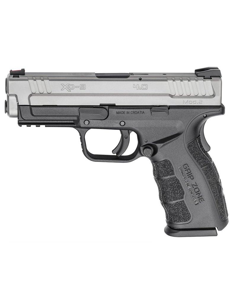 "Handgun New Springfield XD-9 Mod 2, 9mm, 4"" barrel, 16 rd, ss"