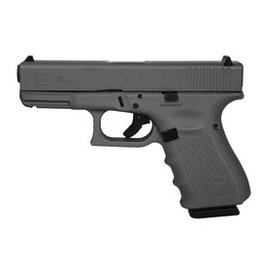 Handgun New Glock 19 Gen 4, 9 mm, 15 rd, 3 mags, Tactical Gray Cerakote