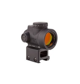 Optics Trijicon MRO - 2.0 MOA Adjustable Red Dot with Lower 1/3 Co-Witness Mount (AC32069)