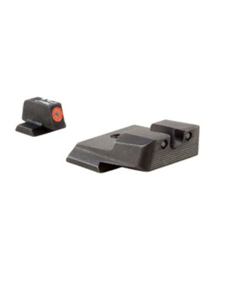 Optics Trijicon HD™ S&W M&P Night Sight Set - Orange Front Outline