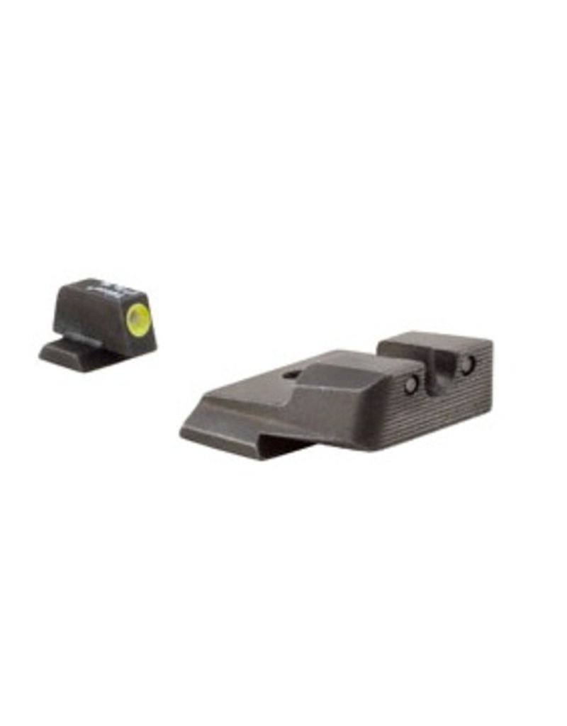 Optics Trijicon HD™ S&W M&P Night Sight Set - Yellow Front Outline