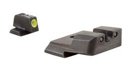 Optics Trijicon HD™ S&W M&P Night Sight Set - Yellow Front Outline