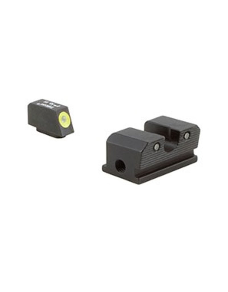 Optics Trijicon HD™ Walther PPS/PPX Night Sight Set - Yellow Front Outline