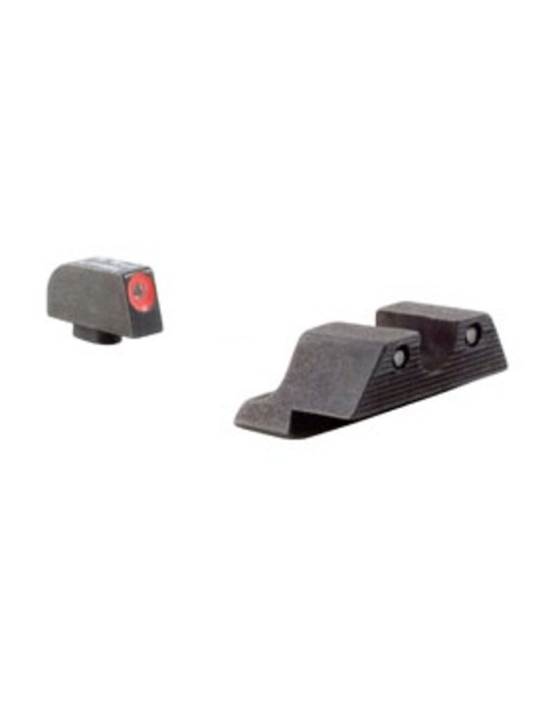 Optics Trijicon HD™ Glock — Orange Front Outline — for Models 17, 17L, 19, 22, 23, 24, 25, 26, 27, 28, 31, 32, 33, 34, 35, 37, 38 and 39
