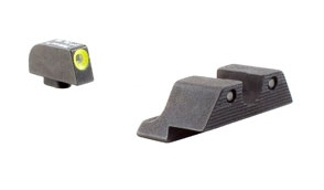 Optics Trijicon HD™ Glock — Yellow Front Outline — for Models 17, 17L, 19, 22, 23, 24, 25, 26, 27, 28, 31, 32, 33, 34, 35, 37, 38 and 39