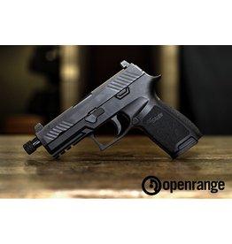 "Used Firearm USED Sig Sauer P320 Carry, Threaded Barrel, 9mm, 3.9"" Barrel, 17 rd, Raised Siglite Night Sights"