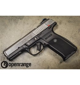 """Handgun Used Used Ruger SR40, 40 S&W, 4"""" barrel, ss, 15 rd"""