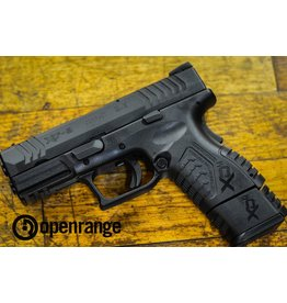 "Handgun Used Used Springfield XDM-9 Compact, 9mm, Black, 3.8"""