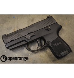 "Used Firearm USED Sig Sauer P320SC, Sub Compact, 40 S&W, 3.6"" Barrel, 10 rd, Siglite Night Sights"