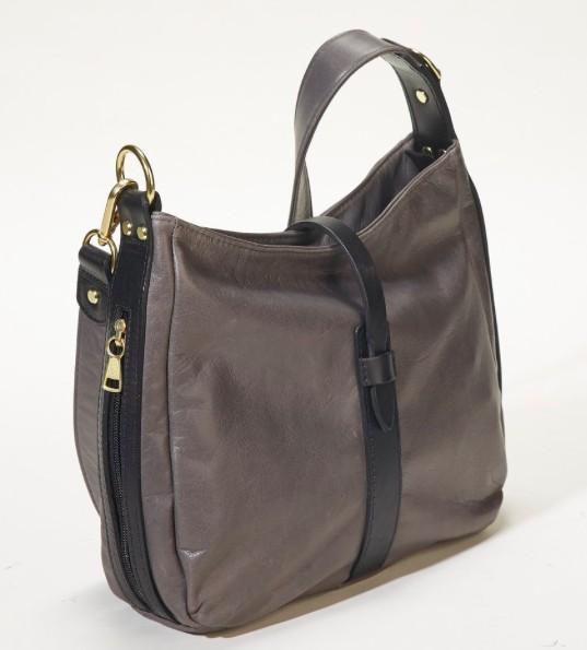 Pack and Etc (Purse) Coronado Classic Shoulder Bag, Granite