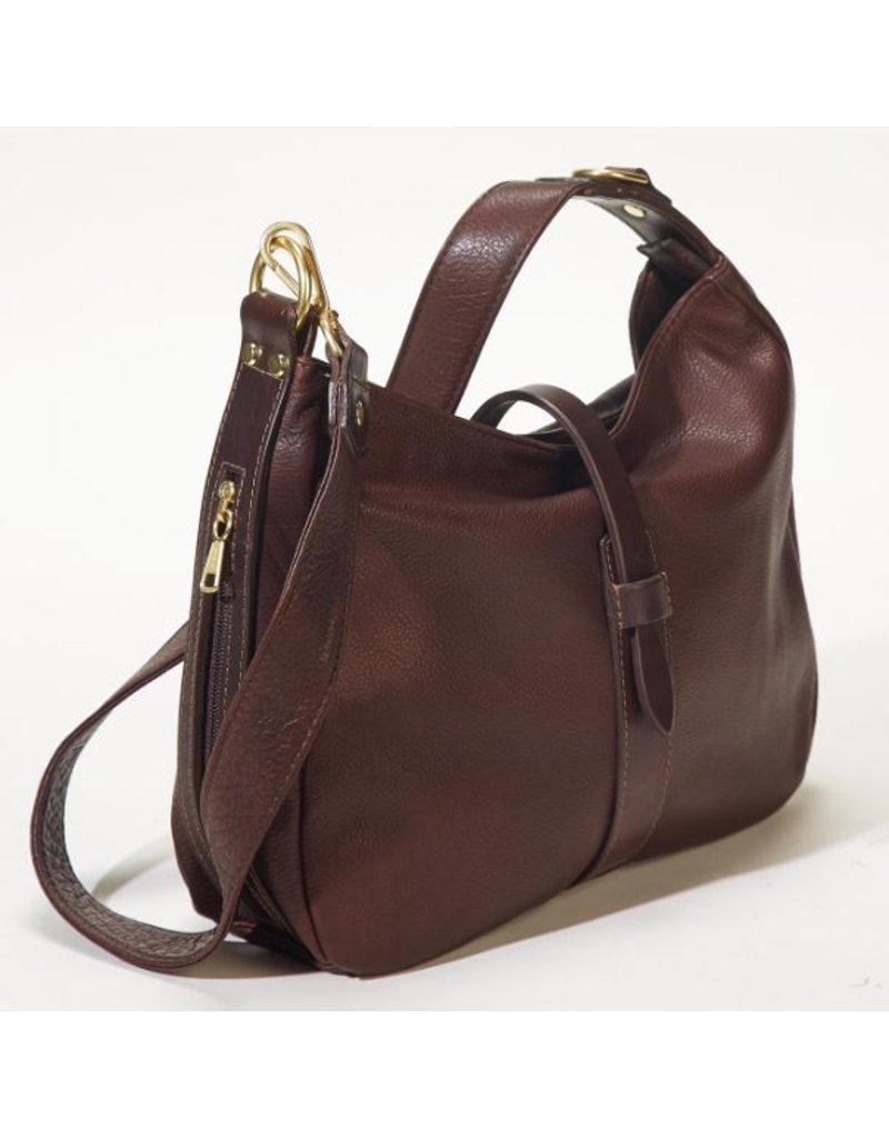 Pack and Etc (Purse) Coronado Jessica Satchel Concealed Carry Bag, Black Purse