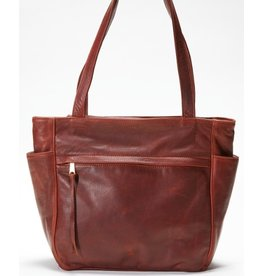 Pack and Etc (Purse) Coronado Monterey Tote, Mahogany